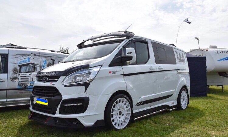 ford transit custom top spoiler eyebrow sun visor m sport msrt ms rt vr46 r spec side window. Black Bedroom Furniture Sets. Home Design Ideas