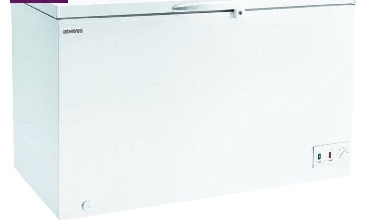 NEW GRADED!!! HOOVER CFH382AWK CHEST FREEZER WHITE WITH 12 MONTHS WARRANTY RRP £349