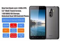 NEW PENPAL 5.5 INCH DUAL SIM ANDROID PHONE