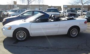 Convertible Sebring!! Only 104kms!!