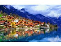 THIS WEEKEND! Flights to Switzerland from LDN Gatwick Parking Included