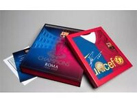 UEFA Champions league winners commemorative shirt and official programme