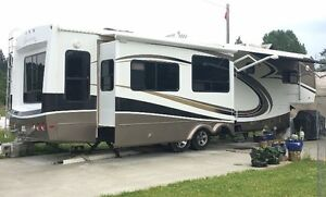 Fifth Wheel, 2009 KZ Escalade 37KE