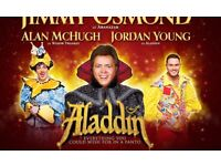2 x Aladdin panto tickets 23rd December
