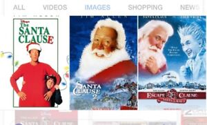 Looking for The Santa Clause movies