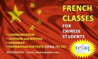 TEFAQ (B2)   -   FRENCH CLASSES FOR CHINESE STUDENTS