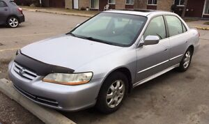 2002 Honda Accord Fully Loaded Sedan