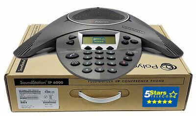 Polycom Soundstation Ip 6000 Conference Phone Poe 2200-15600-001 - Brand New