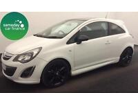 £121.12 PER MONTH 2014 VAUXHALL CORSA 1.2 VVT LTD EDITION 3 DOOR PETROL MANUAL