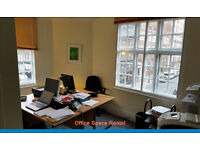 ATTRACTIVE OFFICE SPACE IN BEAUTIFUL CONVERTED WAREHOUSE FOR RENT AT South Bank LONDON.