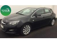£152.06 PER MONTH BLACK 2013 VAUXHALL ASTRA 1.7 E/F TECH LINE 5 DR DIESEL MANUAL