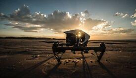 DJI Inspire 1 Drone + DJI Osmo Stabilising Handle + Accessories
