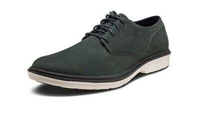 Timberland MENS Tim Berkshire Oxford Dress Business Shoes Grey Suede foam A1QZQ