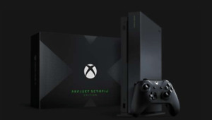 Xbox One X 1 TB Project Scorpio Limited Edition
