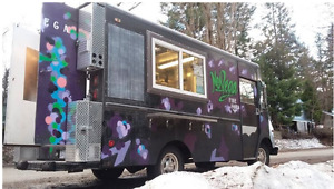 CUSTOM BUILT FOOD TRUCK (REDUCED FOR QUICK SALE)