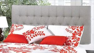 UPHOLSTERED FABRIC HEADBOARD