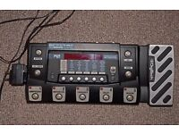 Digitech RP500 multi-effects and USB interface - Upgraded to include looper