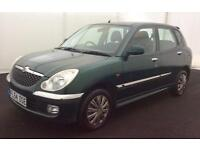 2004 DAIHATSU SIRION 1.3SL >24hr REDUCED PRICE OFFER< LONG MOT..LOW MILES