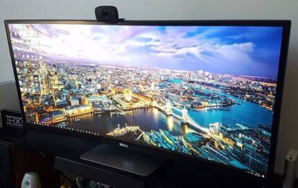 Dell 34inch ultra-wide 4K curved monitor - U3415W (2 weeks old)