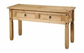 New Solid Corona Large Hall Console Table SALE £49 LAST FEW when its gone its gone
