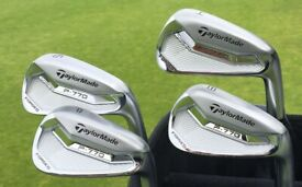 LOOKiNG for a set of Taylormade P770 golf irons. Good condition golf clubs