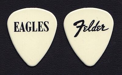 Eagles Don Felder Off-White Guitar Pick - 1994 Hell Freezes Over Tour