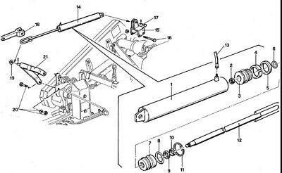 Code 14200 Hydraulic Lift Kit For A Gribaldi Salvia Sickle Bar Mower