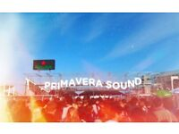 2 x Full Weekend Primavera Sound Tickets
