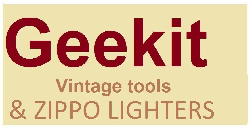 Geekit Vintage Tools & Zippos