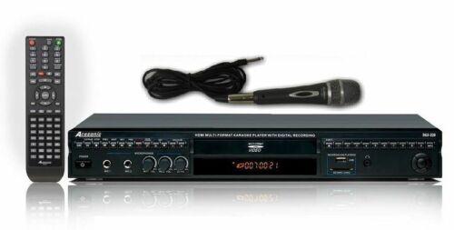 Acesonic DGX-220 HDMI Multi-Format Karaoke Player w/ Digital Recording