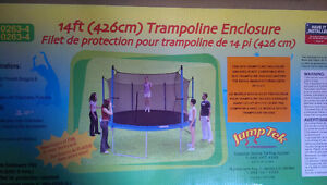 14ft JumpTrek Trampoline Enclosure