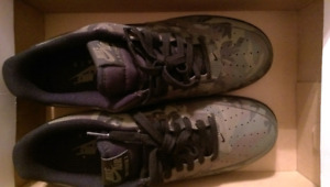 Brand new air forces ones reflective camo. Size 11.5