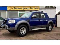 Ford Ranger 3.0TDCi ( 156PS ) 4x4 Wildtrak Double Cab In Blue