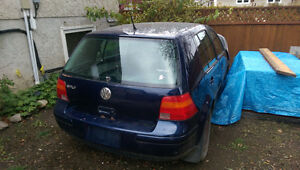 2002 VW GOLF(PARTING OUT) PRICE DROP! Regina Regina Area image 5