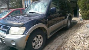 2003 Mitsubishi Montero SUV For Sale