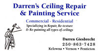 Darren's Ceiling Repair & Painting