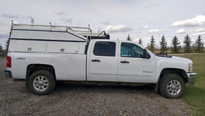 REDUCED! 2012 Chevrolet 3500 HD - Crew Cab - Canopy