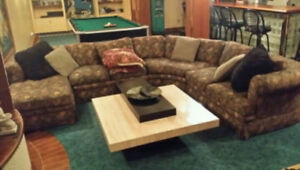 Barrymore Semi circular sectional couch