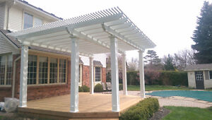 Protect your patio with a  Patio Covers,Pergolas,Clear Roofs Oakville / Halton Region Toronto (GTA) image 1