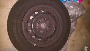 4 Like New Goodyear Nordic Winter Tires! P195/70R14