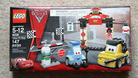 LEGO Disney Cars Tokyo Pit Stop Set 8206 Retired Brand New