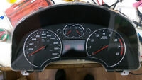 Chevrolet Equinox cluster instrument panel