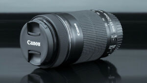 ✪✪✪✪★★  New Canon 55-250mm f/4-5.6 is STM Lens  ★★✪✪✪✪