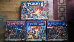 Talisman 1st edition board game with three subset boards