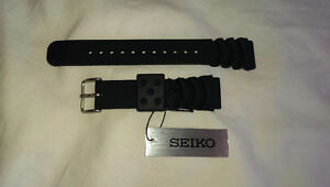 Seiko Rubber Strap 20MM