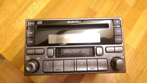 Original Subaru Head Unit Stereo Deck - 6-Disc CD Changer