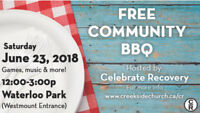 Free Community BBQ hosted by Celebrate Recovery