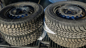 VW Rims & Winter Tires $420
