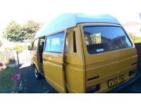 VW camper T25 T3 Mototrhome classic Van