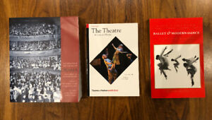 Ryerson Textbooks for THF200- Timelines of Performance History